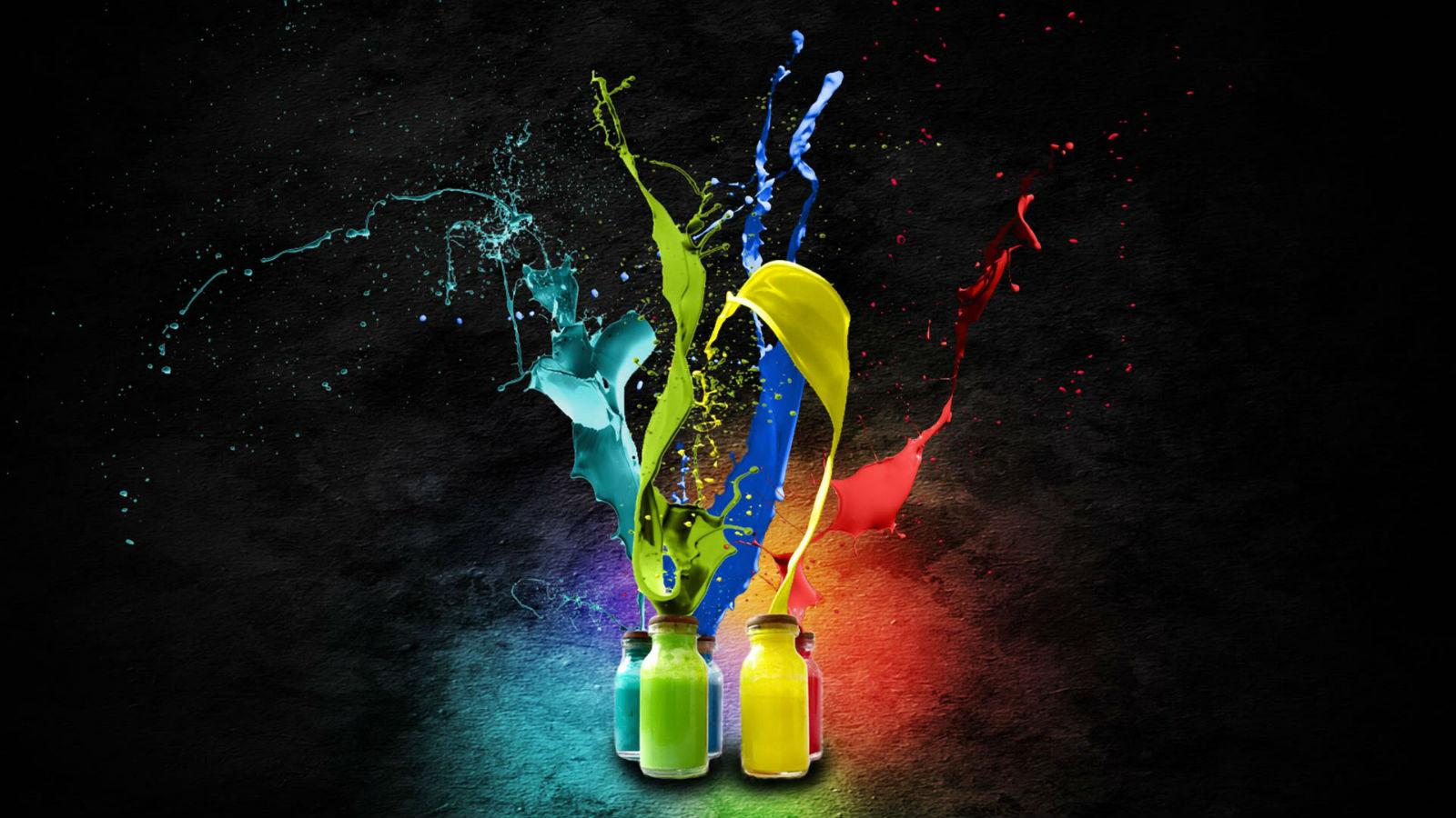color-splash-bottles